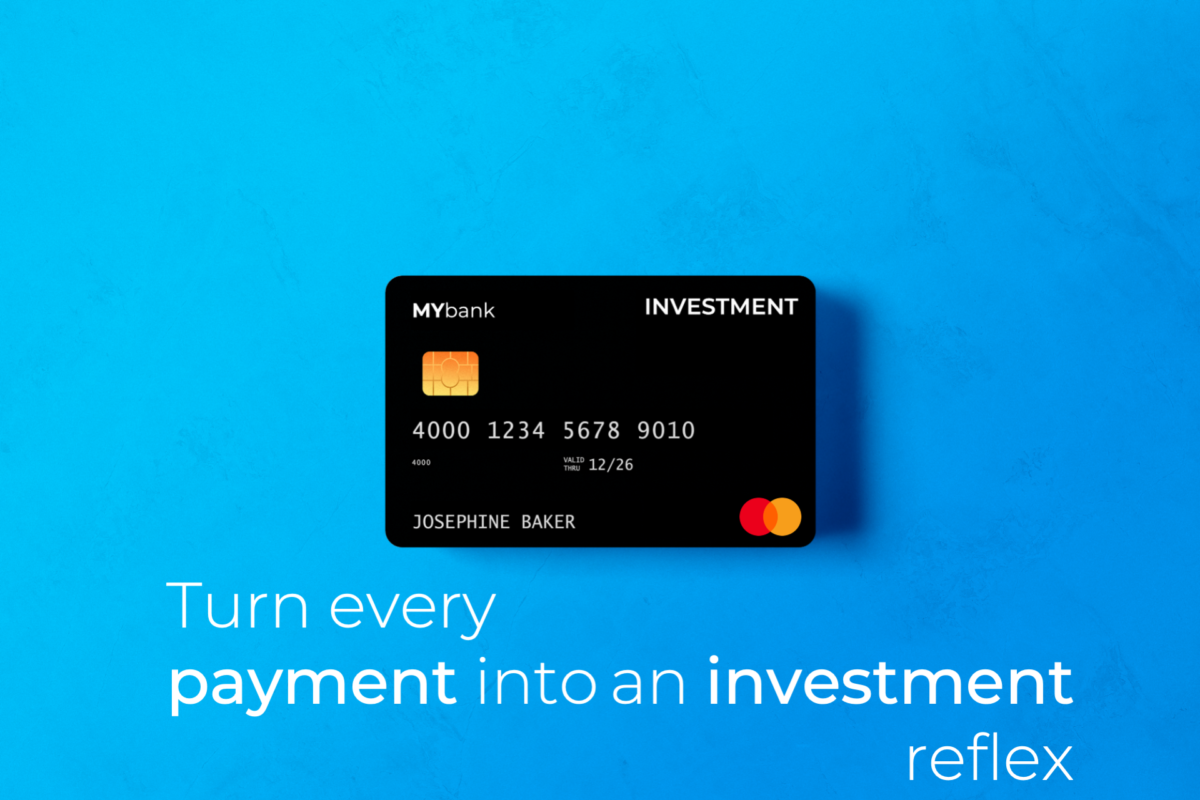 micro-investing everyoneINVESTED mastercard